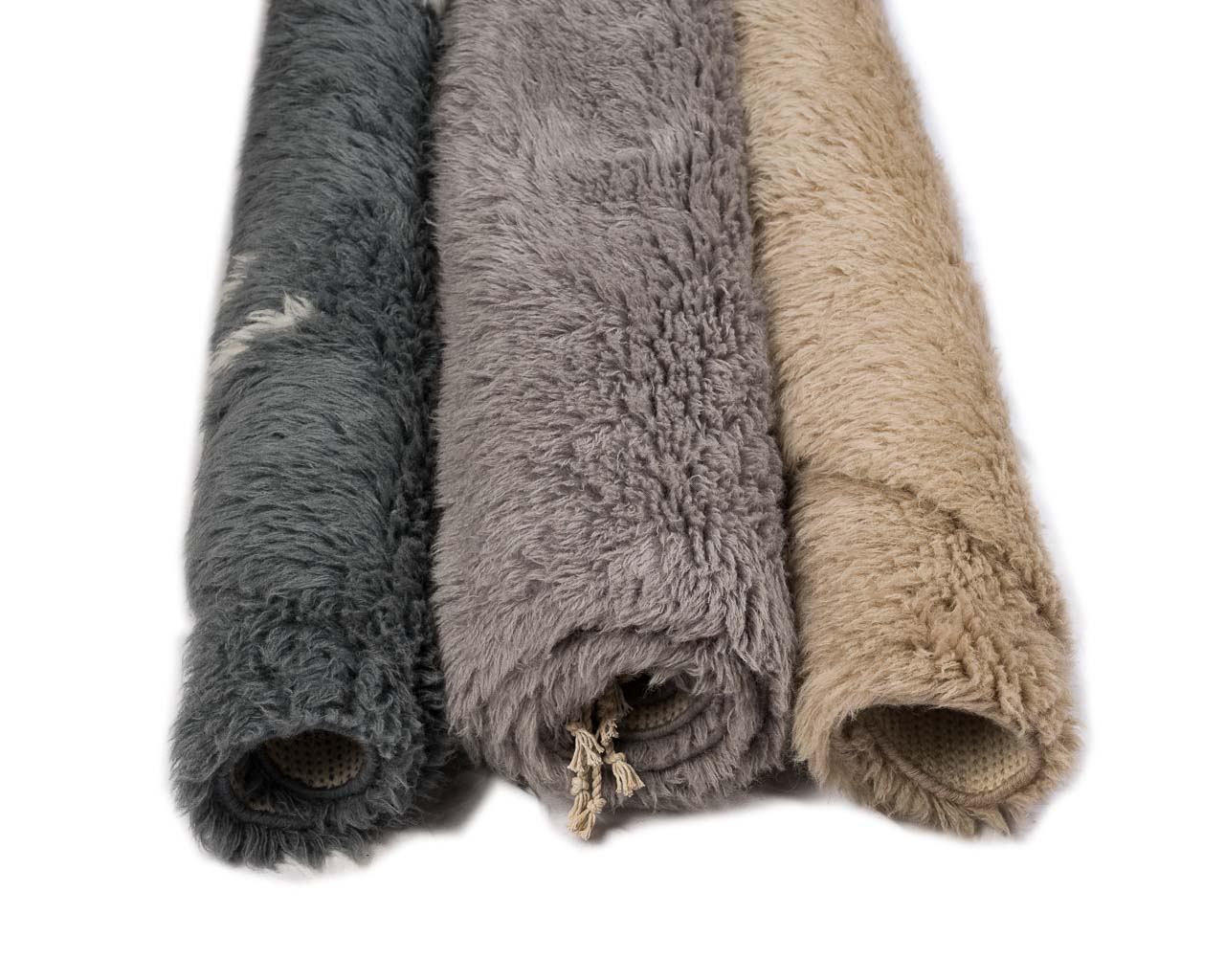 dark color rugs in grey and brown