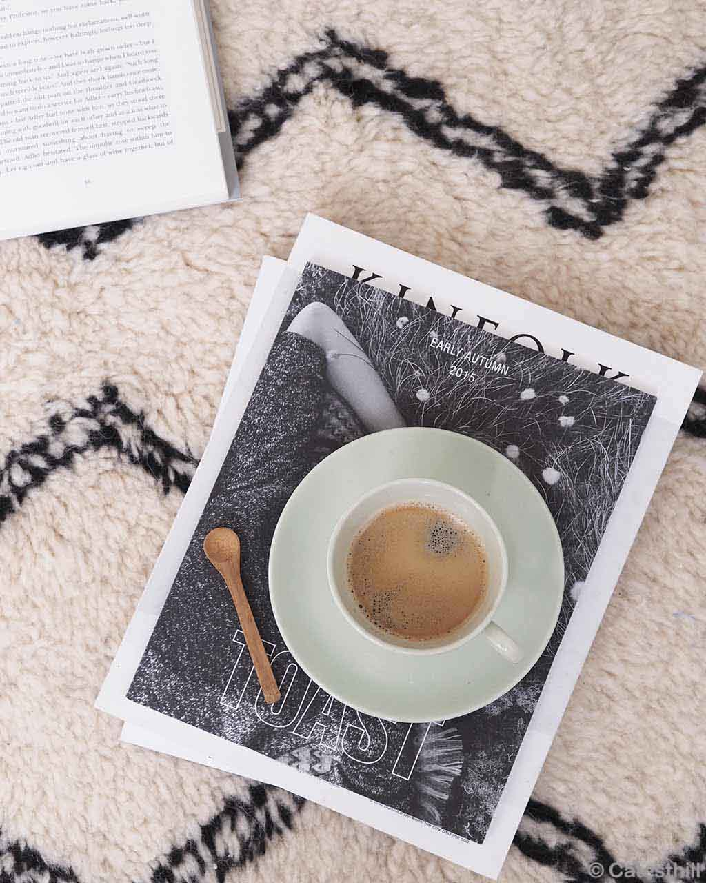 handmade tea spoon and book made in morocco fresh living room rugs