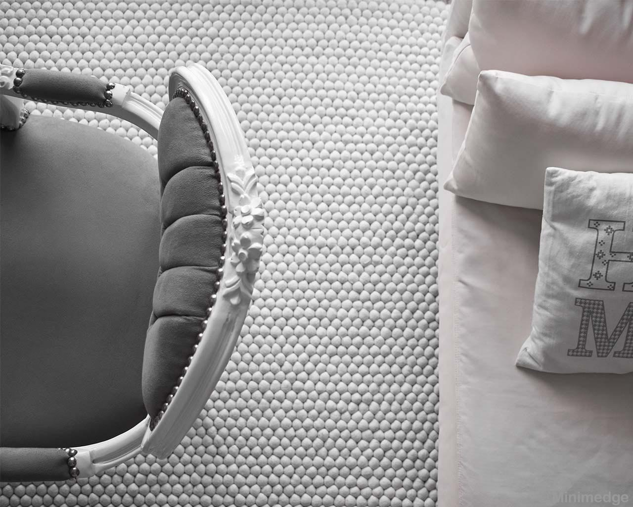 nice gray chair and pillows from nepal modern small rugs
