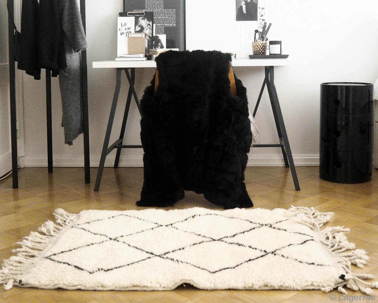 table and chair morocco modern beni ourain accent rug