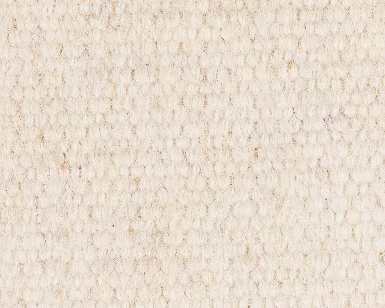 thin and soft rug in white color