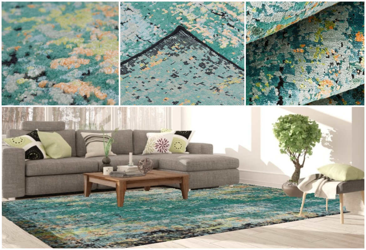 bright-colored-modern-oriental-rug-in-living-room