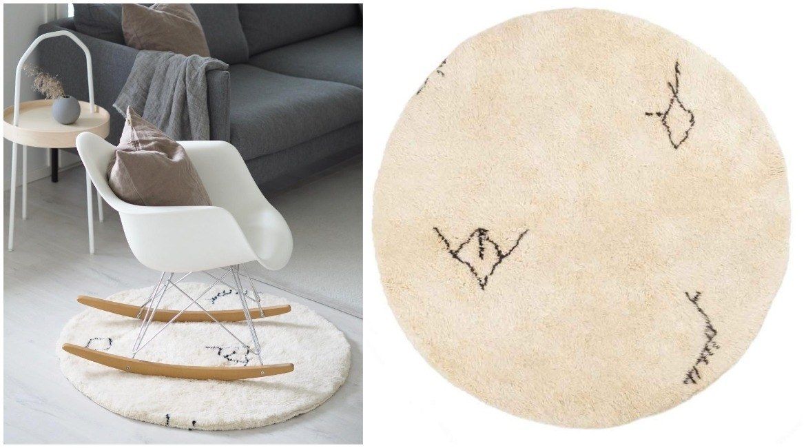 custom-round-beni-ourain-rug-with-tribal-symbols-in-living-room