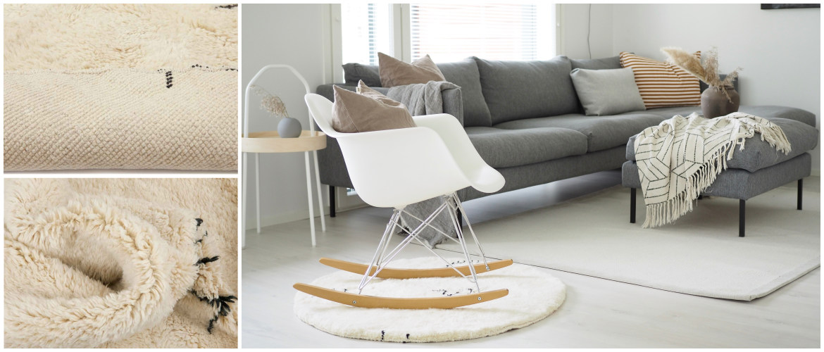 delineate-a-statement-chair-with-a-round-rug